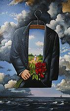 Graceful Dream of Poetic Glory by Rafal Olbinski (Serigraph Print)