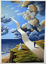 The Shape of Intimate Illusion by Rafal Olbinski (Serigraph Print)
