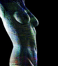 Christmas Nude by Michael Williams (Color Photograph)