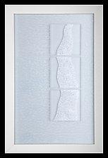 Waterfall #3 by Denise Bohart Brown (Art Glass Wall Sculpture)