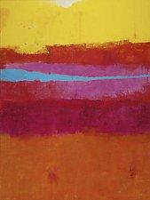 Horizon Line 7 by Katherine Greene (Acrylic Painting)