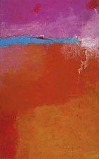 Horizon Line 8 by Katherine Greene (Acrylic Painting)