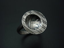 Hidden Atmospheres Ring by Tavia Brown (Silver Ring)