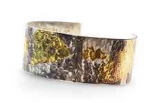 Jungle Fever Cuff by Nancy Troske (Gold & Silver Bracelet)
