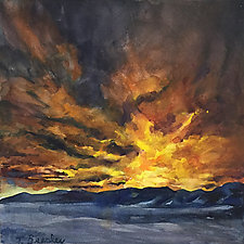 Looking West by Terrece Beesley (Watercolor Painting)