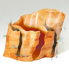 Shelf Mushroom Bowl by Aaron Laux (Wood Bowl)