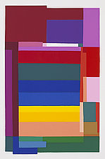 Rainbow I by Barbara Zinkel (Serigraph Print)