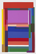 Rainbow II by Barbara Zinkel (Serigraph Print)