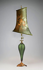 Isabella by Susan Kinzig and Caryn Kinzig (Mixed-Media Table Lamp)