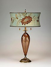 Monica by Susan Kinzig and Caryn Kinzig (Mixed-Media Table Lamp)