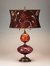Violeta by Susan Kinzig and Caryn Kinzig (Mixed-Media Table Lamp)