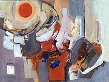 Sunburst by Carole Guthrie (Acrylic Painting)