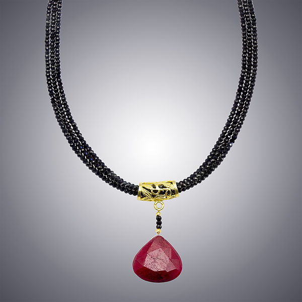 Ruby and Spinel Necklace
