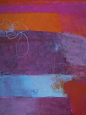 Going Somewhere by Katherine Greene (Acrylic Painting)
