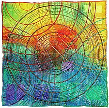Circles 21 by Michele Hardy (Fiber Wall Art)