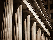 Grand Central Columns by John Maggiotto (Color Photograph)