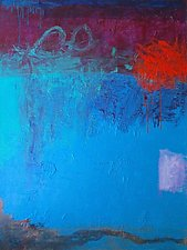 Jupiter Blues 2 by Katherine Greene (Acrylic Painting)