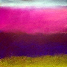 Colorscape #4 by Linda Sweeney (Giclee Print)