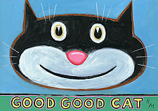 Good Good Cat by Hal Mayforth (Giclee Print)