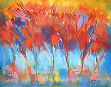 Tree Ballet by Joan Skogsberg Sanders (Pastel Painting)