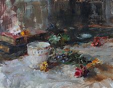 From the Garden by Leslie Dyas (Oil Painting)