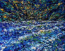 The Shore by John E Metcalfe (Acrylic Painting)