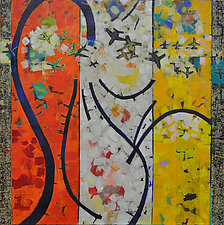 Flight Paths by Chin Yuen (Acrylic Painting)