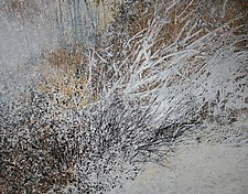 Spring Thaw by Jan Jahnke (Mixed-Media Painting)