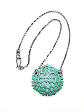 Cell Necklace by Joanna Nealey (Enameled Necklace)