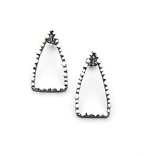 Arrowhead Earrings by Joanna Nealey (Silver Earrings)