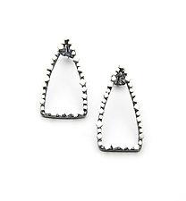 Arrowhead Earrings by Joanna Nealey (Silver Earrings)