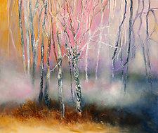 Fog Light by Judy Hawkins (Oil Painting)