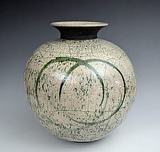 Arctic Circles by Tom Neugebauer (Ceramic Vessel)