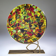 Spring Blooms by Varda Avnisan (Art Glass Sculpture)