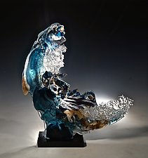 Instinct by Caleb Nichols (Art Glass Sculpture)