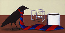 Power Tie by Kamilla White (Giclee Print)