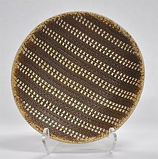 Striped Bowl by Kelly Jean Ohl (Ceramic Bowl)