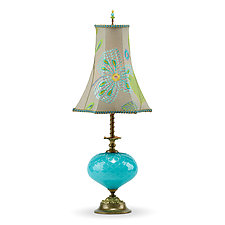 Chelsea by Susan Kinzig and Caryn Kinzig (Mixed-Media Table Lamp)