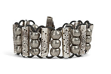 Perforated Bead Bracelet by John Siever (Silver Bracelet)