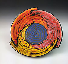 Folded Bowl by Thomas Harris (Ceramic Bowl)