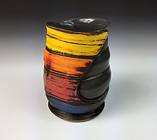 Folded Tumbler by Thomas Harris (Ceramic Tumbler)
