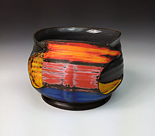 Folded Vessel by Thomas Harris (Ceramic Vessel)