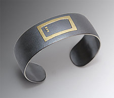 Golden Temple by Lisa Ceccorulli (Silver & Gold Cuff)