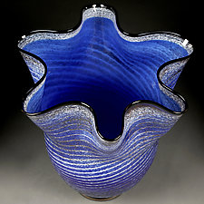 Arctic Azure by Eric Bladholm (Art Glass Vessel)