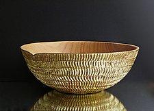 Ripple by Klaus  Kloeppel (Wood Bowl)