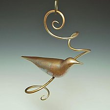 Bird 2 by Steve Shelby (Bronze Sculpture)