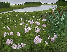 Marsh Mallows by Sherry Schreiber (Giclee Print)