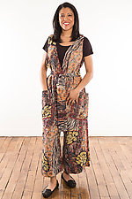 Kantha Jumpsuit #1 by Mieko Mintz (Size M (10-12), One of a Kind)