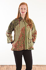 Flare Short Jacket #3 by Mieko Mintz (Size M (6-12), One of a Kind)