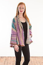 Flare Short Jacket #4 by Mieko Mintz (Size M (6-12), One of a Kind)